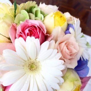 色とりどりの花を・・・