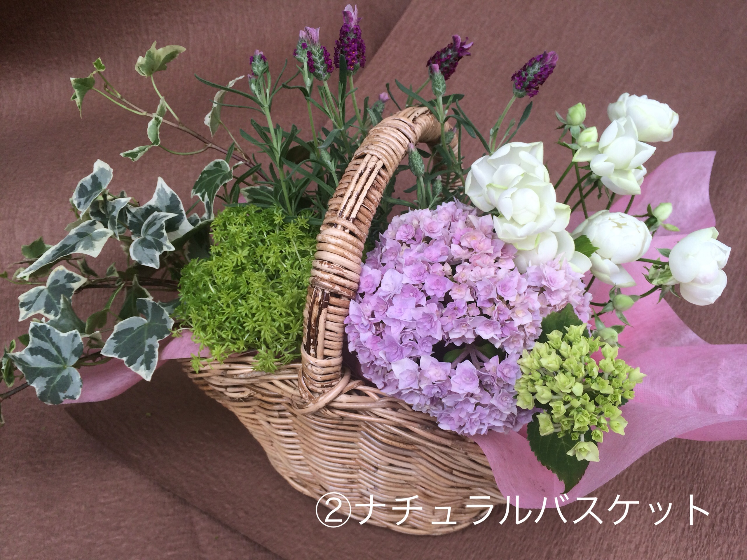 Thanks! Mother's Day 2017 ②ナチュラルバスケット